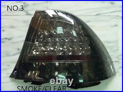 0003-lexus Is200 Is300 1998-2005 Led Tail Lamps 4 Type Crystal/smoke/red/clear