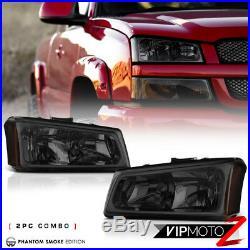 03 04 05 06 Chevy Silverado 1500 Tail lights parking light headlights LED SMD