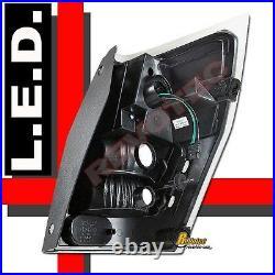 05 06 07 08 Dodge Magnum R/T SE SRT8 SXT Black LED Tail Lights Lamps 1 Pair
