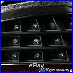 05-08 BMW E90 3 Series Sedan LED Tube Black Tail Lights Brake Lamps Left+Right