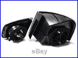 06-09 Vw Jetta Mk5 Euro Led Taillights Black/clear