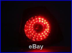 06-09 Vw Mk5 Rabbit Gti R32 Led Taillights Dark Cherry Red