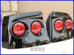 06-10 Charger Smoked Tail Lights Black OEM CUSTOM! Tinted non led painted