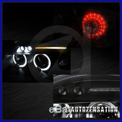 06-11 Mitsubishi Eclipse Black Halo LED Projector Headlights+LED Tail Lamps