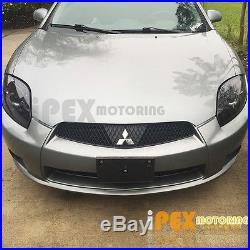 06-11 Mitsubishi Eclipse Halo Projector Black Headlights + Bright LED Tail Light