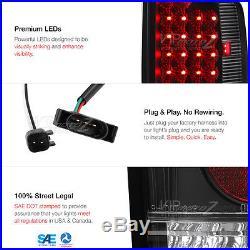 07 08 Dodge Ram 3500 Angel Eye Headlights Tail Lights Assembly LED Fog High Red