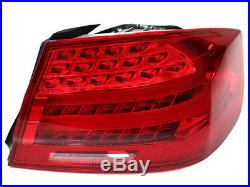 07-13 BMW E92 2DR Coupe LCI Facelift Euro Style LED Tail Lights Amber Signal