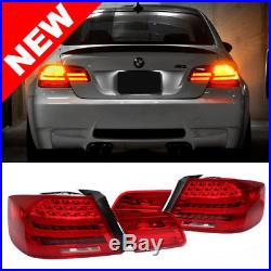 07-13 BMW E92 2DR Coupe LCI Facelift Style LED Taillights Red with Amber Signal