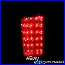 07-14 Silverado 1500 2500 3500 Smoke Lens Headlights+Tinted LED Tail Brake Lamps