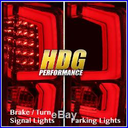 07-2013 Silverado 1500 New Generation Replacement Led C-Streak Tail Lights Red