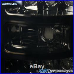 09-14 Ford F150 Pickup Smoke LED Tail Lights Tinted Rear Brake Parking Lamps