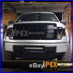09-14 Ford F150 Super Bright LED DRL Projector Head Lights + Rear LED Tail Lamps