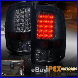 09-16 Dodge RAM 1500 2500 3500 Black-Out Headlights + Dark Smoke LED Tail Light