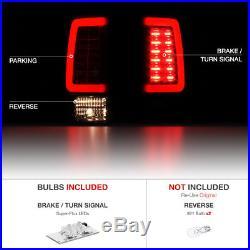 09-18 Dodge Ram 1500 2500 3500 Truck BLACK SMOKE LED Light Bar Brake Tail Lamp