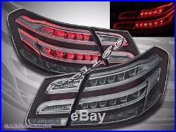 10-13 Mercedes Benz E Class W212 E350 E300 E250 E63 Smoke Sedan LED Tail Lights
