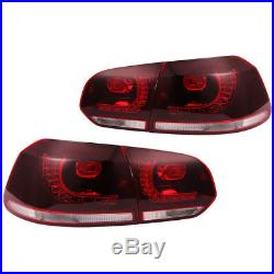10-14 VW MK6 Golf/GTI R LED Taillights Error Free Sequential Signal