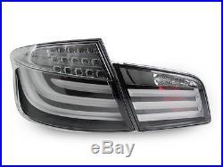 11-13 BMW F10 5 Series Whiteline Light Bar LED Tail Lights + Smoke Side Markers