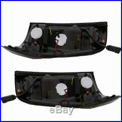 11-15 FORD Explorer LED Taillights with LED Black Housing Red Light Tube