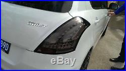 11+ Suzuki Swift Smoke Full LED Tail Lights FZ GA GLX GL CLASSIC SPORTS JY