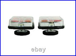 12V 24V Led Battery Magnetic USB Wireless Tow Towing Trailer Rear Tail Lights E9