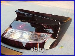 12-14 Honda Civic Smoked Tail Lights CUSTOM! OE Non LED Black Tinted COUPE 2DR