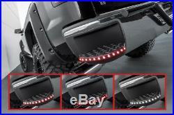 14-18 Silverado Sierra Rear Bumper Corner Step LED Tail Stop Reverse Light Pair