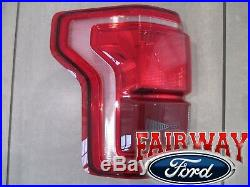 15 thru 17 F-150 OEM Genuine Ford Tail Lamp Light Driver LH LED with Blind Spot