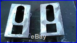 1984-1996 Jeep Cherokee XJ Taillight Boxes Steel set of 2 off-road 4x4 LED