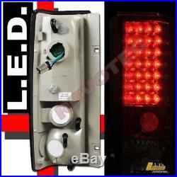 1985-2005 Chevy Astro Van GMC Safari LED Tail Lights Red 1 Pair