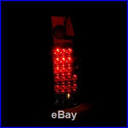 1988-1998 Chevy/GMC C/K 1500 2500 3500 Truck LED Red Brake Tail Lights Lamps Set