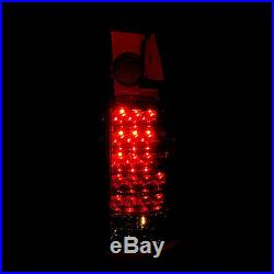 1988-1998 Chevy/GMC C/K 1500 2500 3500 Truck LED Red Smoke Tail Lights Lamps Set