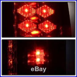 1988-1998 Chevy Silverado Suburban Tahoe Sierra C10 Red Lumileds LED Tail Lights