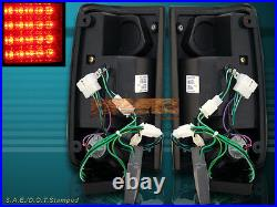 1989-1995 L. E. D. Tail Lights Led Pair Red For Toyota Pickup 90 91 92 93 94