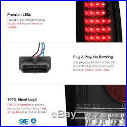 1994-2000 C2500 C3500 K2500 K3500 Black LED Tail Lights Head Bumper Lamp Signal