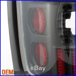 1994-2001 Dodge Ram 1500 2500 3500 Black LED Tube Tail Lights Lamps Replacement