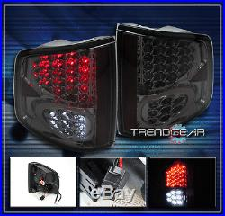 1994-2004 Chevy S10/gmc Sonoma Led Altezza Tail Lights Lamps Smoke Ls Ss Zr2 Sls