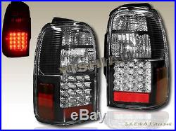 1996-2000 Toyota 4runner Led Tail Lights Black