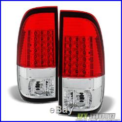 1997-2003 Ford F150 99-07 F250 F350 SD LED Tail Lights Brake Lamps Left+Right