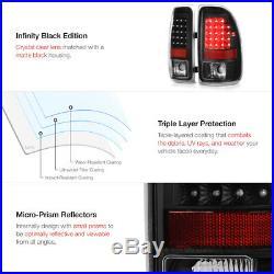 1997-2004 Dodge Dakota Black LED Brake Signal Brake Lamp Tail Lights LEFT RIGHT