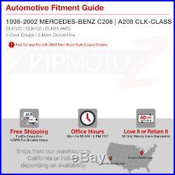 1998-2002 Mercedes Benz W208 C208 CLK320 CLK430 CLK55 AMG LED Brake Tail Lights