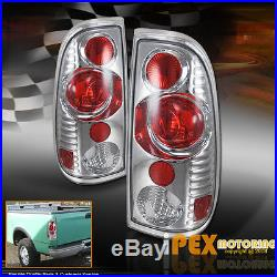 1999-2004 Ford F250/F350 SUPER-DUTY Halo LED Projector Headlight With Tail Light