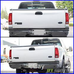 1999-2007 Ford F250 F350 F45 SD 1997-2003 F150 Red LED Tail Lights Signal Lamps