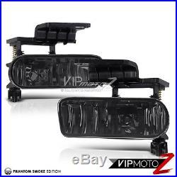 2000-06 Chevy Suburban Bumper+Headlights Smoke LED Tail Light Tinted Driving Fog
