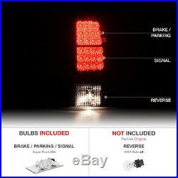 2000-2006 Chevy Suburban 6.0L Euro Chrome L+R Headlights+Bumper+ LED Tail Lights