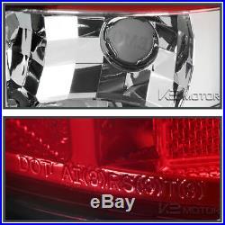 2000-2006 Chevy Tahoe Suburban GMC Yukon Denali LED Light Bar Tail Lights Pair