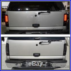 2000-2006 Chevy Tahoe Suburban GMC Yukon Denali Smoke LED Tail Lights Left+Right