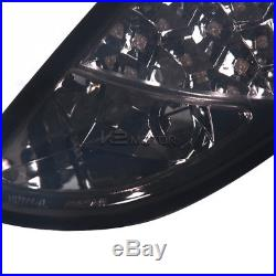 2000-2006 Ford Focus 5Dr Hatchback Wagon LED Tail Lights Smoke