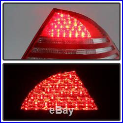 2000-2006 Mercedes Benz W220 S430 S500 S600 S55 LED Tail Lights Rear Brake Lamps