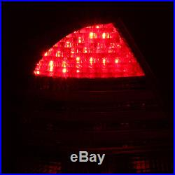 2000-2006 Mercedes-benz W220 S-Class S430 S500 S600 S550 Red LED Tail Lights Set