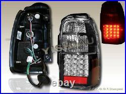 2001-2002 Toyota 4runner Sr5 Led Tail Lights Black